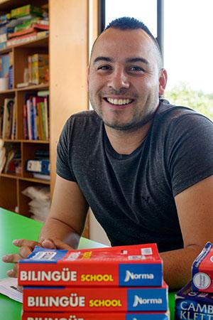 Leonardo Londoño Molina - Tutor de  Inglés bachillerato